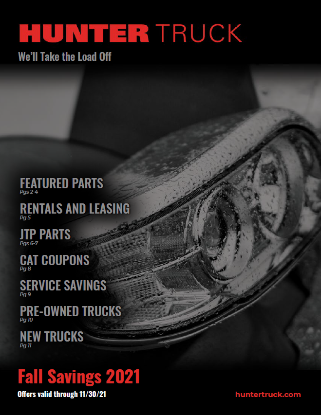 commercial truck parts and service specials
