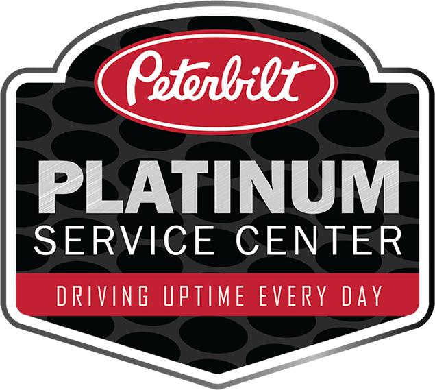 Clearfield designated Peterbilt Platinum Service Center